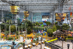 Park rozrywki przy centrum handlowym Ameryka w Bloomington, MN na Lipu Zdjęcie Royalty Free