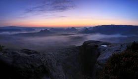 Park Sachsens die Schweiz lizenzfreie stockfotografie