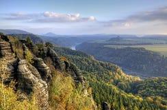 Park Sachsens die Schweiz Stockfoto