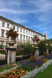 Park in Salzburg royalty-vrije stock foto's