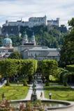 Park in Salzburg Stock Image
