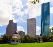 Park Sam-Houston Stockfotos