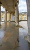 In the park of Sanssouci palace. Visiting Sanssouci palace park. Potsdam, Germany stock photo