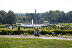 Park From Sanssoussi - Potsdam (Germany) Royalty Free Stock Photos