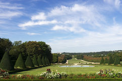 Park of Sceaux  in France Royalty Free Stock Images