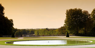 Park of Sceaux  in France Stock Image