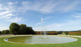 Park of Sceaux  in France Stock Images