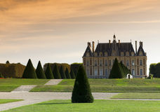 Park of Sceaux  in France Royalty Free Stock Photo