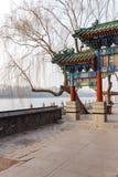Park Scenics Pekings Beihai Lizenzfreie Stockfotos