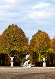Park Schloss Schönbrunn Zdjęcia Royalty Free