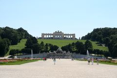 In park of schoenbrunn palace Stock Photos