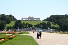 In park of schoenbrunn palace Royalty Free Stock Photography
