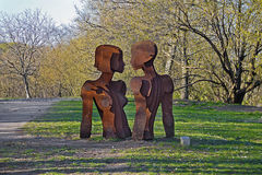 Park sculpture Stock Image