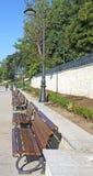 Park seafront Constanta Romania 3. Alley on the seashore Cunstanta Romania Royalty Free Stock Image
