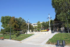 Park seafront Constanta Romania. Pin park on the seafront in Constanta Royalty Free Stock Photography