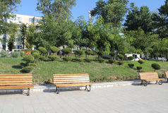 Park seafront Constanta Romania 2. Pin park on the seafront in Constanta Royalty Free Stock Image