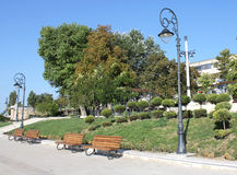Park seafront Constanta Romania 3. Pin park on the seafront in Constanta Royalty Free Stock Photography