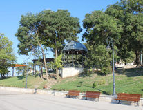Park seafront Constanta Romania 4. Pin park on the seafront in Constanta Stock Photo