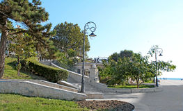 Park seafront Constanta Romania 6. Pin park on the seafront in Constanta Stock Photography