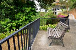 Park Seat at Mount Faber Park, Singapore Royalty Free Stock Photos