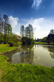Park of Sempione in City of Milan Royalty Free Stock Photography