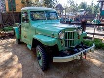 Park Service truck, Grizzly Peak, Disney California Adventure Park Royalty Free Stock Photo