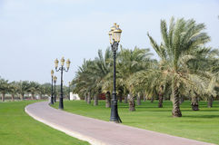 Park in Sharjah City Royalty Free Stock Images