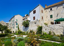 Park at Sibenik in Croatia Stock Image