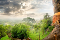 Park on Sigiriya stock photography