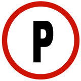 Park sign Stock Photography