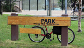 Park Sign Royalty Free Stock Images