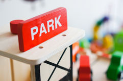 Park sign Stock Image