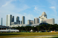 Park in Singapore. Park in the center of Singapore Stock Images