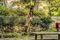 Park skalisty monaster Aladzga, Bułgaria fotografia stock