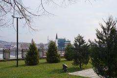 Park in Skopje stockbilder