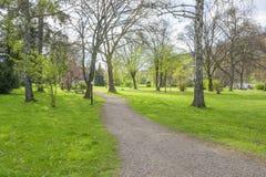 Park in Slechte Brueckenau stock fotografie
