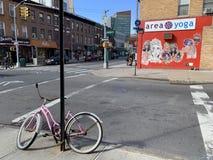 Park Slope, Brooklyn, New York City, USA royalty free stock image