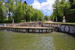 The park in the Spanish city of Segovia Stock Photo
