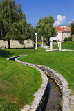 Park in Split, Croatia Royalty Free Stock Images
