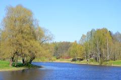 Park at spring. Royalty Free Stock Photos