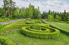 Park, Square. Landscape design. Royalty Free Stock Photo