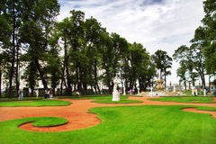 Park in St. Petersburg Stock Photography