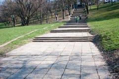 Park stairs Stock Photos