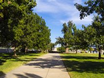 Park at State Capitol in Oklahoma City. USA 2017 Stock Photos