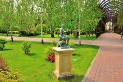 Park statue Stock Photos