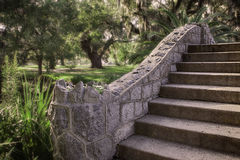 Park steps Royalty Free Stock Image