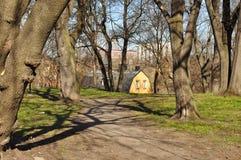 Park in Stockholm Lizenzfreies Stockfoto