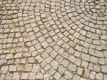 Park stone pavement. Dirty city stone pavement Royalty Free Stock Photography