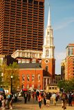 Park-Straßenkirche, Boston lizenzfreie stockfotos
