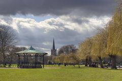 Park at Stratford upon Avon Stock Photography